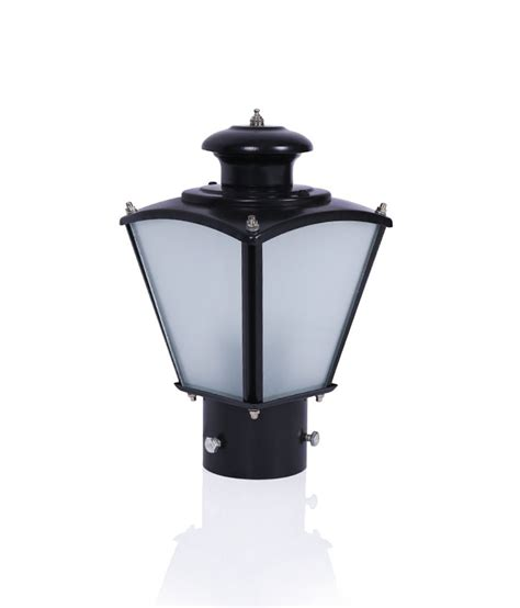 fos lighting classic black small outdoor gate light buy