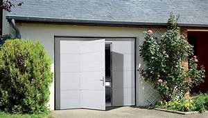 Porte De Garage Sectionnelle Avec Porte : portes sectionnelles futurol ~ Edinachiropracticcenter.com Idées de Décoration