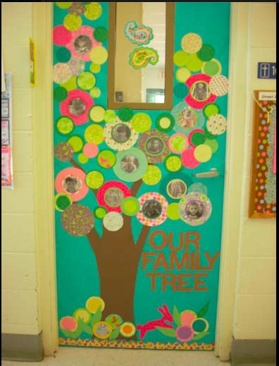family tree bulletin board ideas for preschool 53 classroom door decoration projects for teachers 615