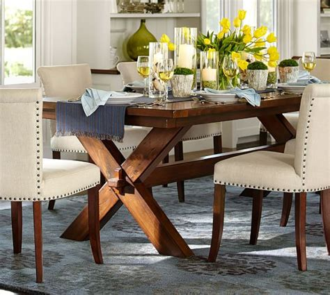 Toscana extending dining table, tuscan chestnut. Pottery Barn Dining Furniture Sale: 25% Off Dining Tables ...