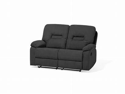 Bergen Sofa Fabric Grey Beliani Polsterbezug Verstellbar