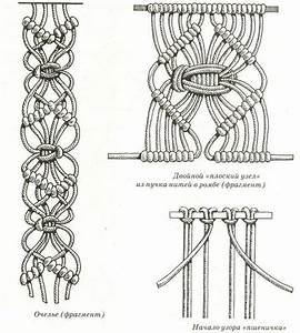 Diagrams For Many Macrame Knots