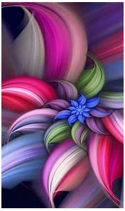 Wallpaper Colorful abstract beautiful flower 1920x1200 HD ...