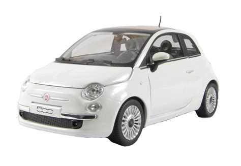Fiat 500 White by Hattons Co Uk Cararama 125038 Fiat 500 White
