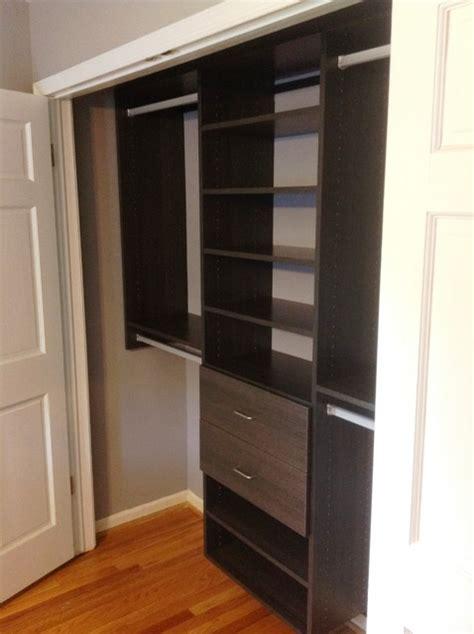 reach in closet modern baltimore by california