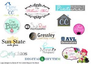 custom logo design the cutest on the block custom custom logo design