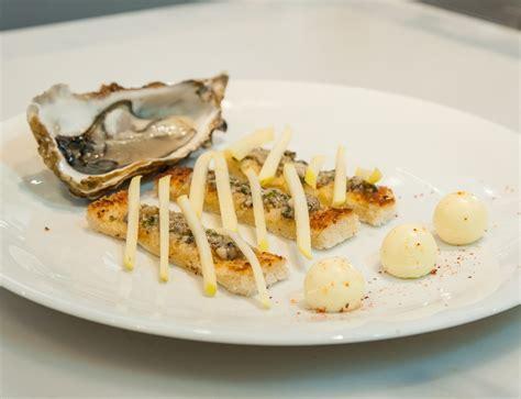 recette canape canapé au beurre d 39 huîtres tartare d 39 huîtres arcachon cap