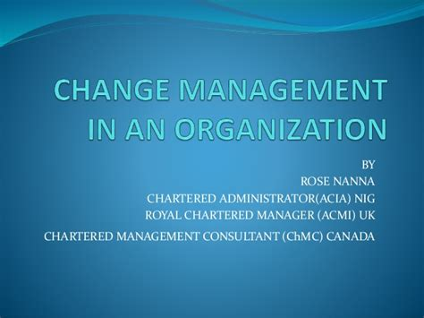 change management   organization