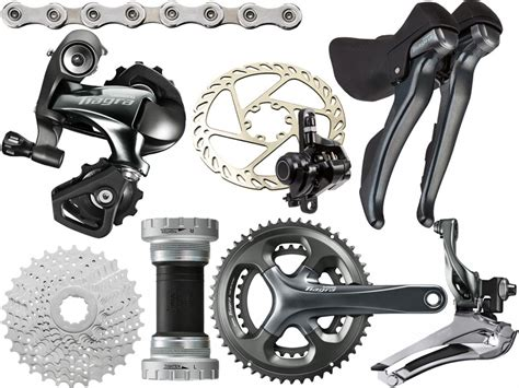 Shimano Tiagra Cassette by Shimano Tiagra 4700 10 Speed Mechanical Disc Groupset