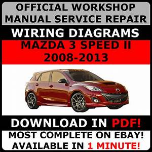 Official Workshop Service Repair Manual For Mazda 3 Speed