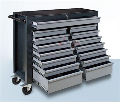 servante d atelier 15 tiroirs servante atelier vide 15 tiroirs 1250 x 410 x 1010 mm mobilier d atelier