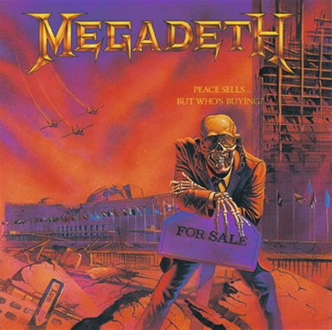 Peace sells ... but who's buying ?   Megadeth CD   EMP