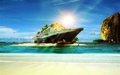 Wallpapers Ship Cruise Cool Desktop Ocean Trash