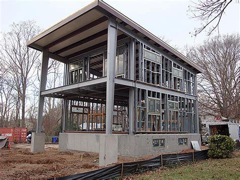 modular steel homes 3030 home ecosteel prefab homes green building