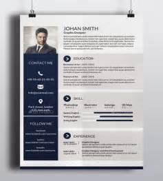 One Page Web Resume Template by 41 One Page Resume Templates Free Sles Exles Formats Free Premium