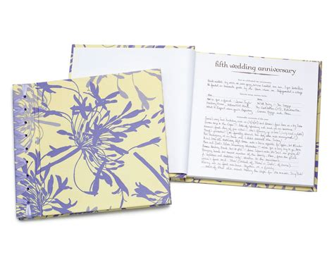 anniversary journal wedding anniversary book