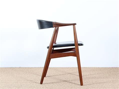 bureau en teck fauteuil de bureau scandinave en teck galerie møbler