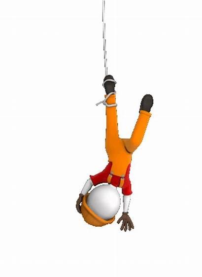 3d Animated Load Hanging Crane Swinging Foot
