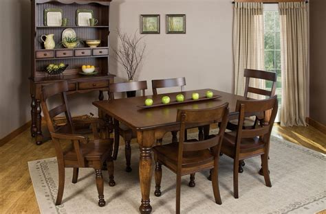 jolie french country dining set countryside amish furniture