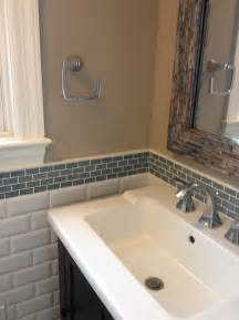 bathroom tile backsplash ideas glass tile backsplash bathroom home design ideas