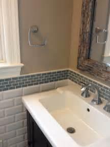 backsplash bathroom ideas glass tile backsplash bathroom home design ideas