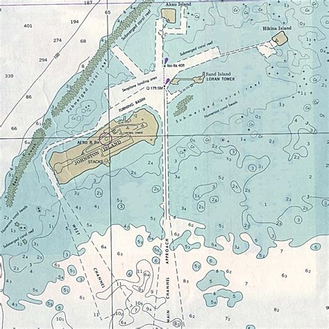 Hawaiian Islands and Midway Map