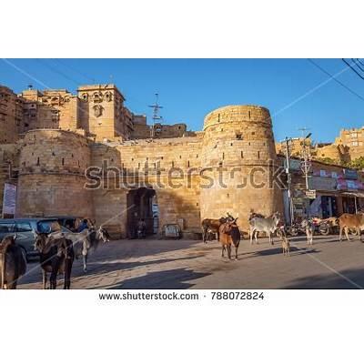 Jaisalmer Rajasthan India December 15 2017 Stock Photo