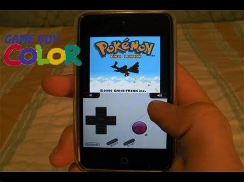 gameboy color emulator iphone how to install gameboy color roms on iphone ipod