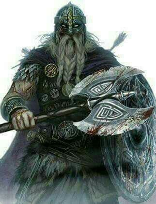 viking warriors en armure en  mythologie nordique