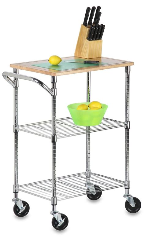 Kitchen Cart Rolling by Rolling Kitchen Cart Woodworking Projects Plans