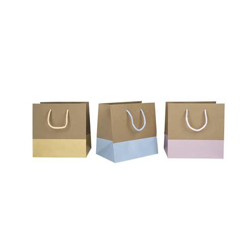 le bureau carré de soie sac kraft base pastel comptoir de l 39 emballage