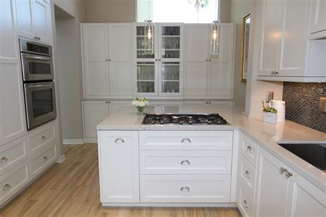 white cabinets with brushed nickel hardware black hardware