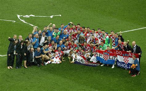 Fifa World Cup Russia Teams Croatia