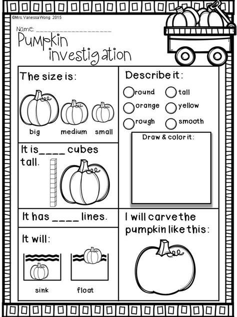 fall activities for kindergarten math and literacy no prep 265 | 1c4929841c4c571e9259dea6e52439c4