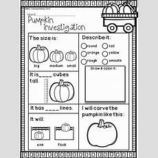 Fall Activities For Kindergarten Math And Literacy No Prep Printables  School Stuff Fall