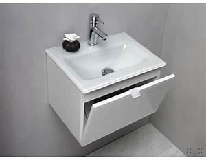 Meuble salle de bain verre meuble salle de bain avec for Salle de bain design avec vasque en verre castorama