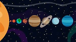 Cartoon Animation of the Planets of the Solar System By ...