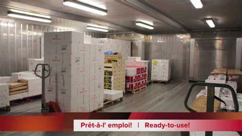 chambre froide mobile 1080p conteneur frigorifique