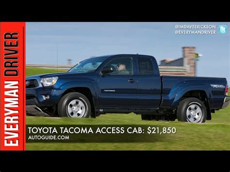 Top Affordable Trucks by Top 5 Most Affordable Trucks On Everyman Driver