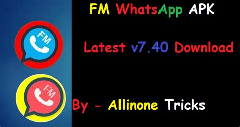 fmwhatsapp apk v8 0 for android 2019 updated
