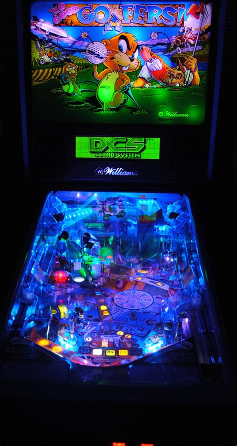 high quality no gofers pinball ultimate led lighting