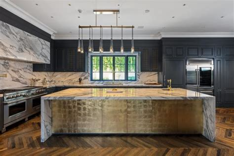 Amazing Kitchen Design With Touches Of Gold by Glamorous Black And Gold Kitchen In 2018 Hgtv