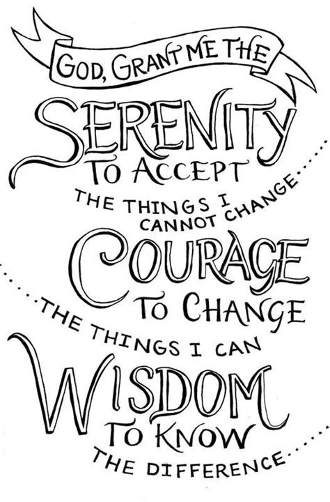 42 best images about Serenity Prayer on Pinterest