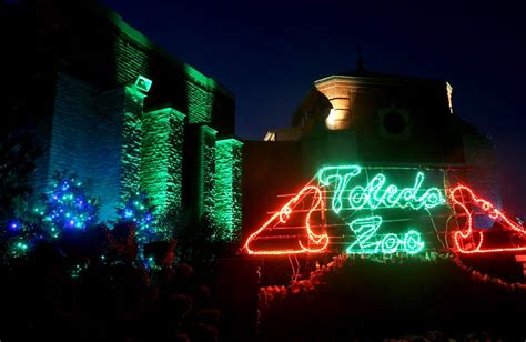 toledo zoo s lights before christmas wins best display for