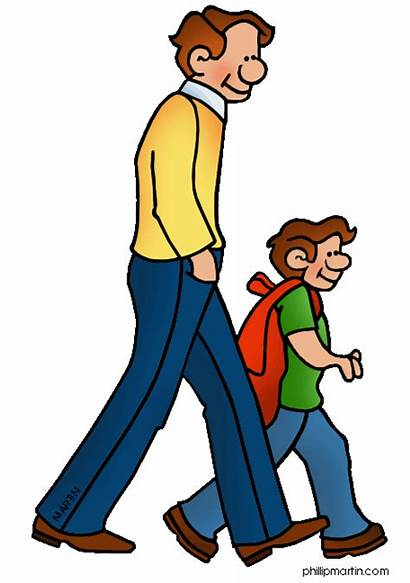 Walking Clip Martin Five Clipart Exercise Maryland