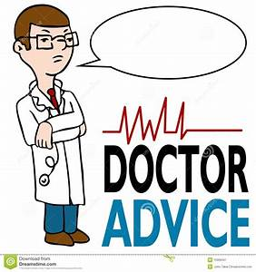 Serious Doctor Giving Advice Royalty Free Stock ...