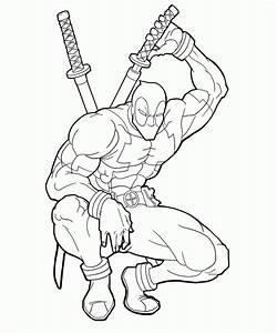 Superhero, Drawing, Outline, At, Getdrawings