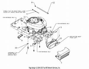 Troy Bilt 13al78bs023 Bronco 42 Auto  2019  Parts Diagram