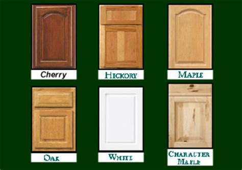 types of kitchen cabinets materials custom cabinetry