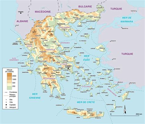 Carte Du Monde Grece Crete by Carte Gr 232 Ce Carte Du Monde